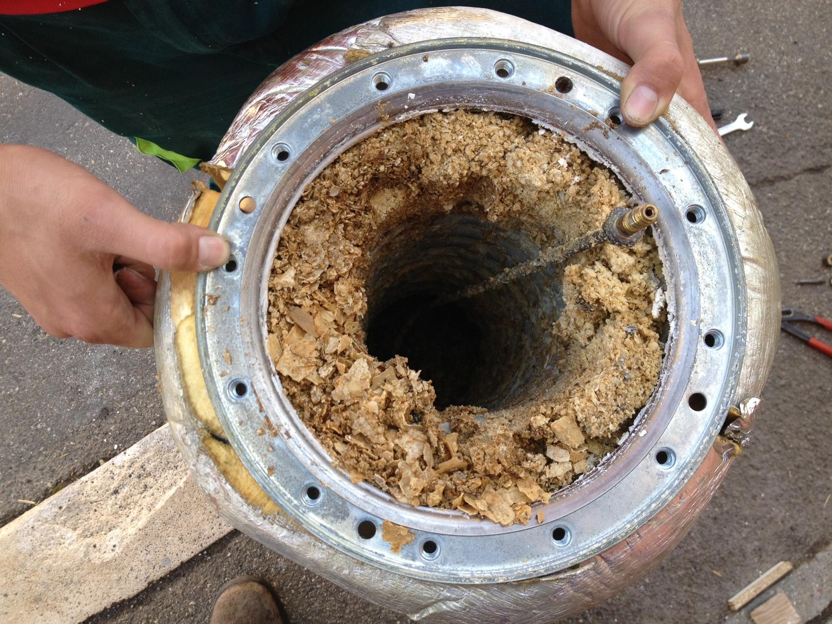 Installazione Scaldabagno Fai Da Te : Aerazione forzata pulizia boiler